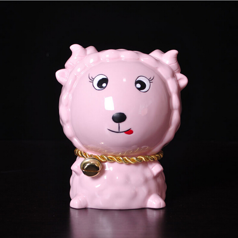 存钱罐创意可爱十二生肖礼物鼠牛虎兔龙蛇马羊猴鸡狗猪储蓄罐摆件