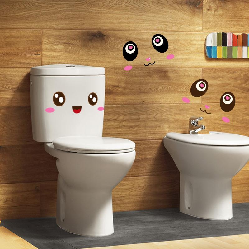 萌萌表情贴-防水马桶贴浴室瓷砖贴纸笔记本贴创意
