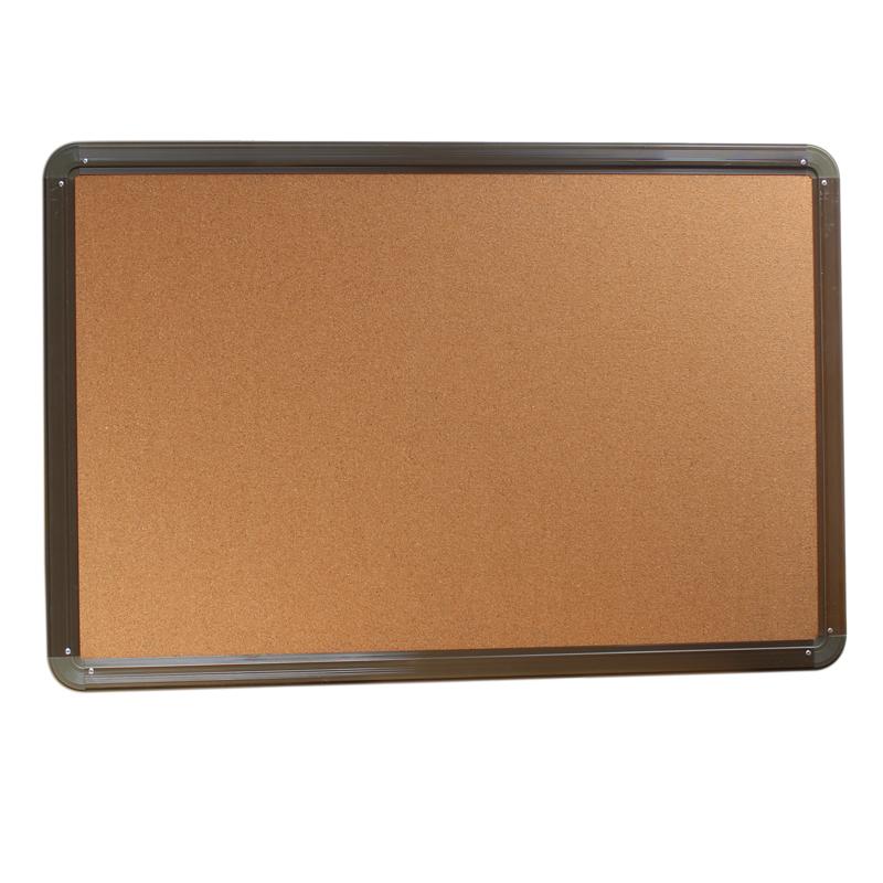 拓兴带铝合金边框挂式软木板 图钉照片便签板 留言板