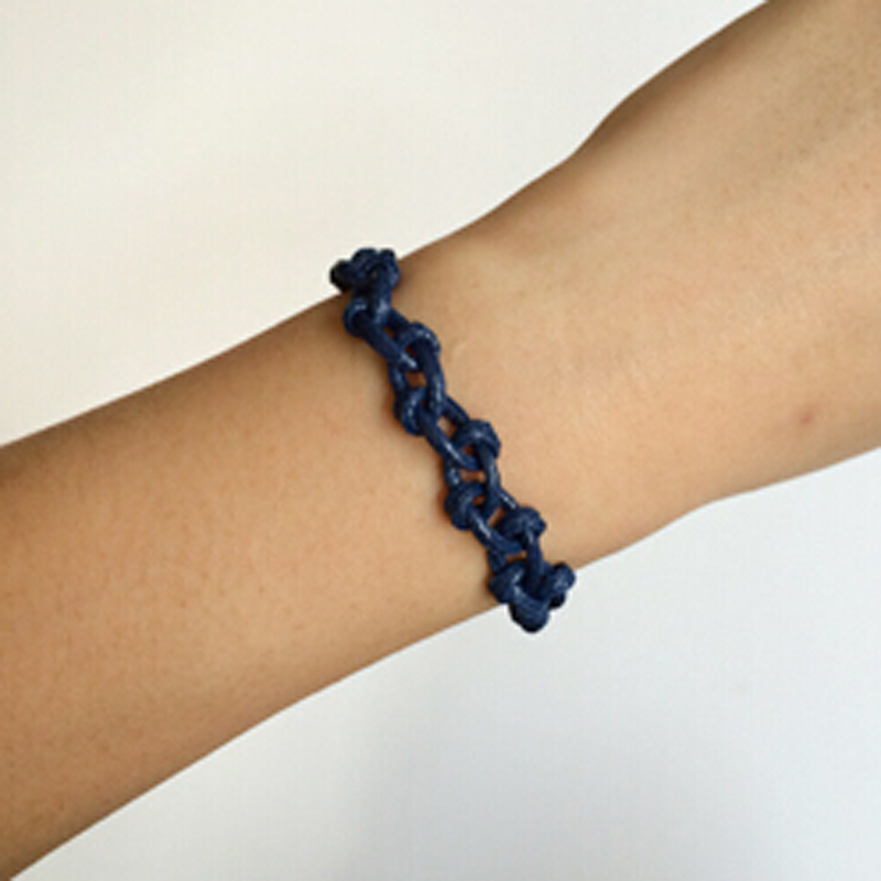 [dirtyvelvet] 手工编织手绳/两色船锚海军结 纯手工工艺品赠品 深