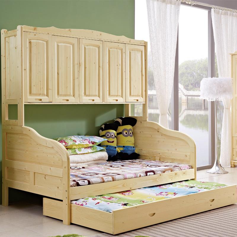 小房子带床跟柜子的设计图