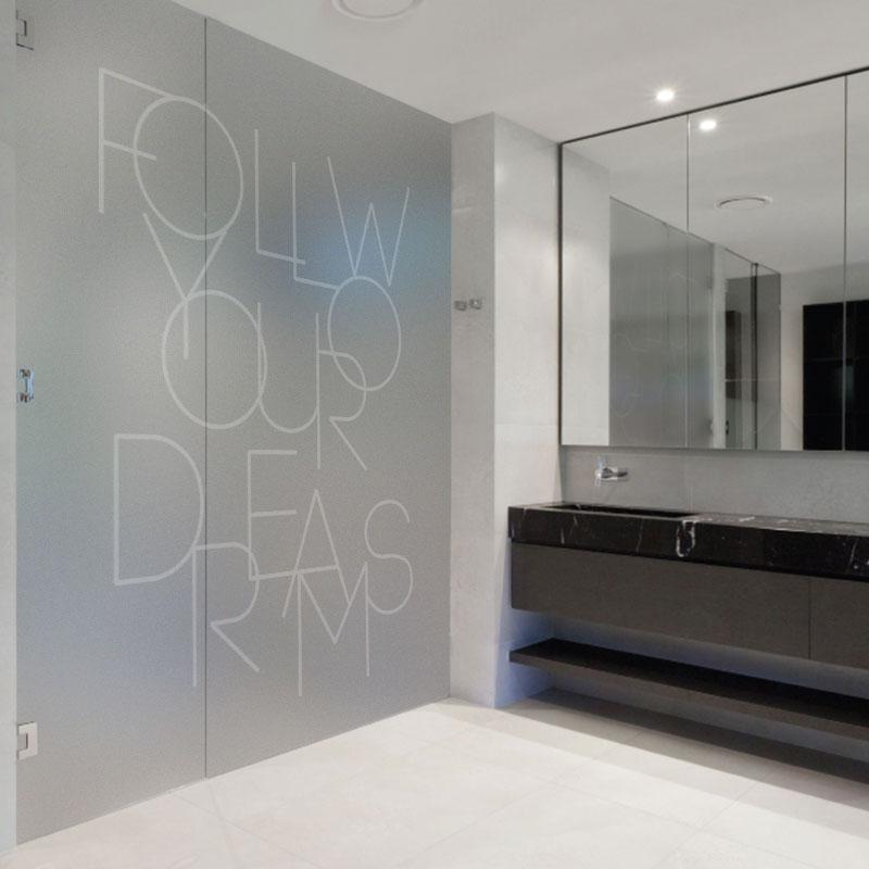 爱贴定制静电膜玻璃贴膜英文字公司办公室窗花纸橱窗图片