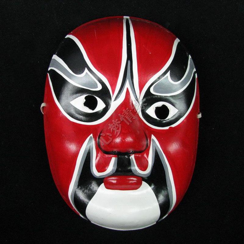 手绘面具 纸浆面具
