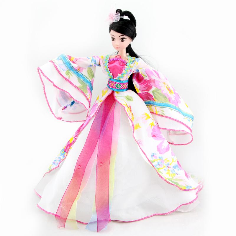 娇儿古代四大美女古典人物古装娃娃古代公主娃娃女孩
