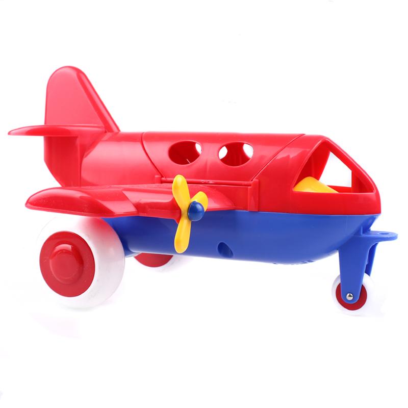 瑞典维京 进口安全益智玩具 私人飞机 北欧品质玩具 红色