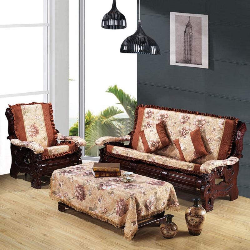 世纪辉煌家纺定做红木沙发坐垫实木质椅子沙发垫带靠背加厚海绵冬坐垫