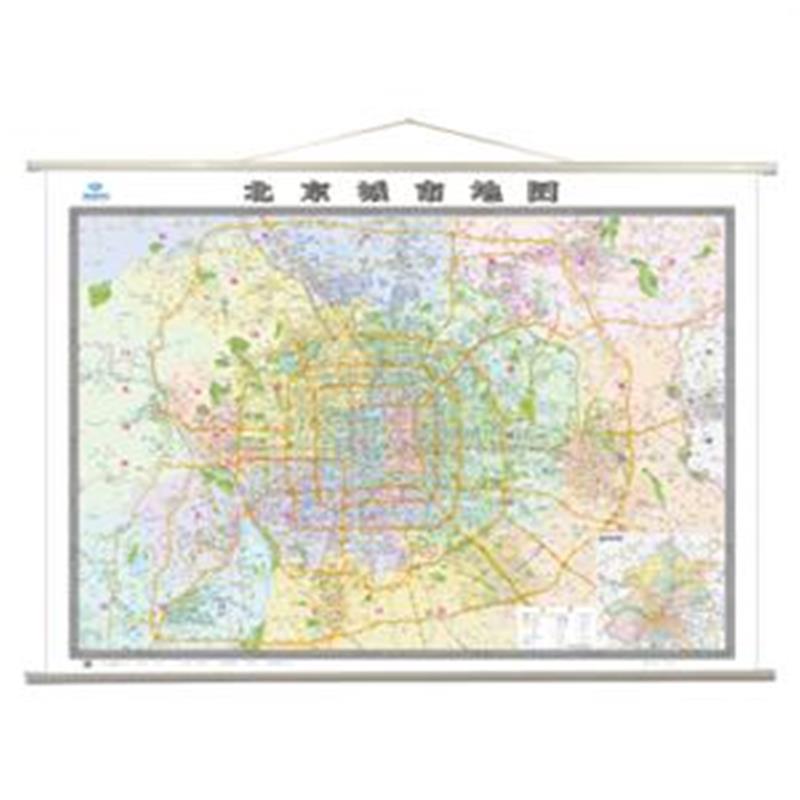 北京城市地图