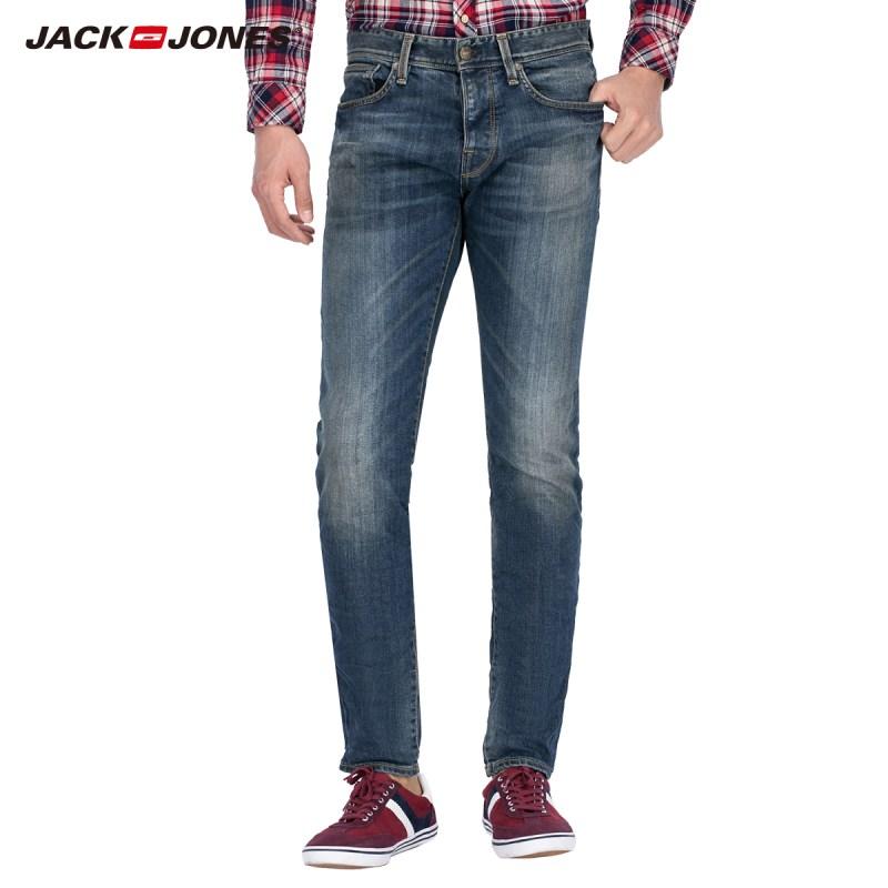 jackjones牛仔裤