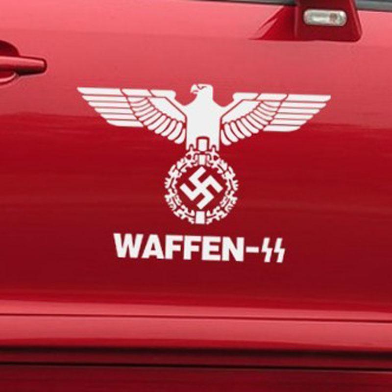 帝图 德国 鹰 军徽 二战 贴纸 德国军标 铁十字万字旗