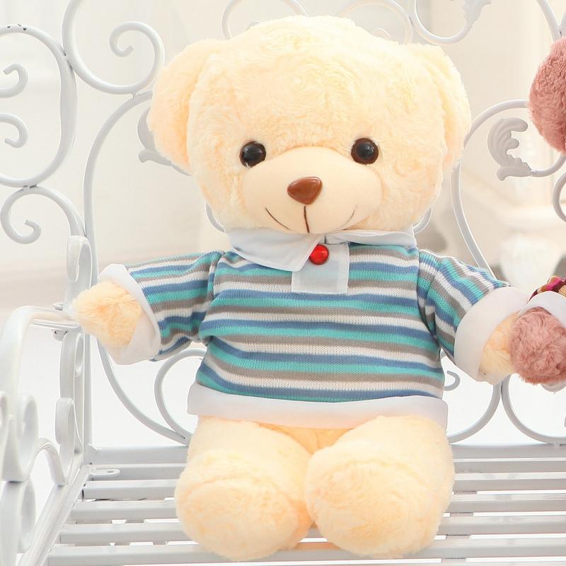 嘟嘟猫穿衣泰迪熊毛绒玩具公仔抱枕玫瑰卷毛熊娃娃结婚生日礼物送女
