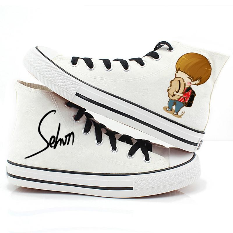 正侧的鞋子手绘