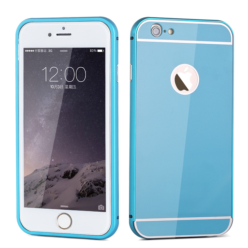 丁奇 金属边框带后盖 手机保护壳套 适用于苹果iphone