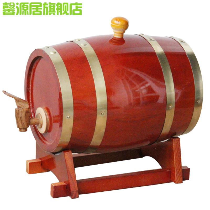 橡木桶5l 道具木酒桶木制酒桶木质酒桶葡萄酒桶装饰