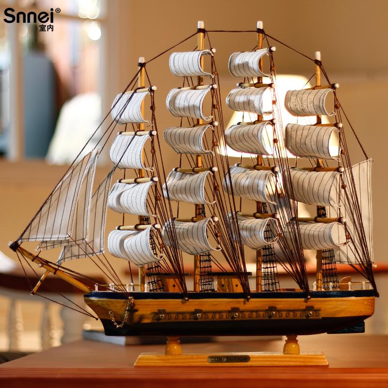 帆船模型木质手工礼品_第5页_手工小制作图片