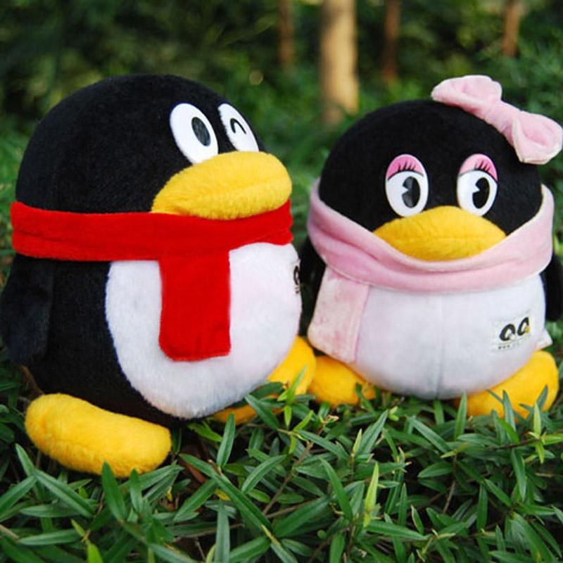 毛绒玩具婚庆用品可爱企鹅公仔qq送女友生日礼物 情侣