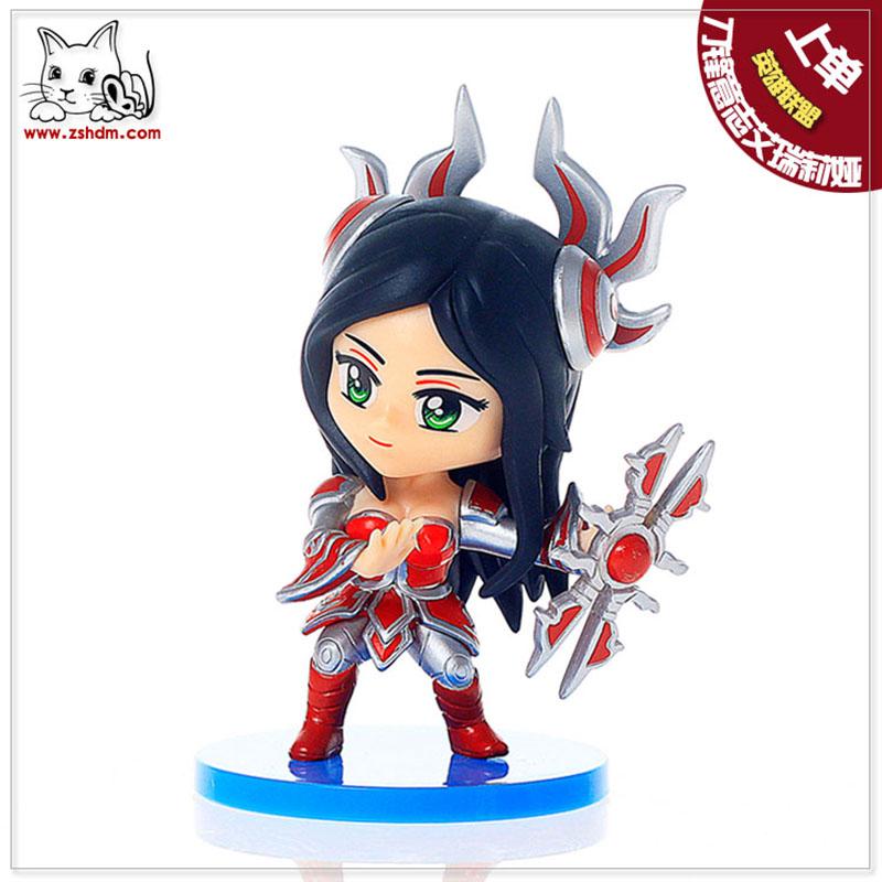 媛之梦 lol英雄联盟刀锋意志艾瑞莉娅手办模式玩偶汽车摆件玩具