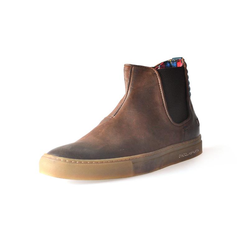 t�u_d\'acquasparta进口男士休闲短靴舒适开车男鞋urban style u07 t.
