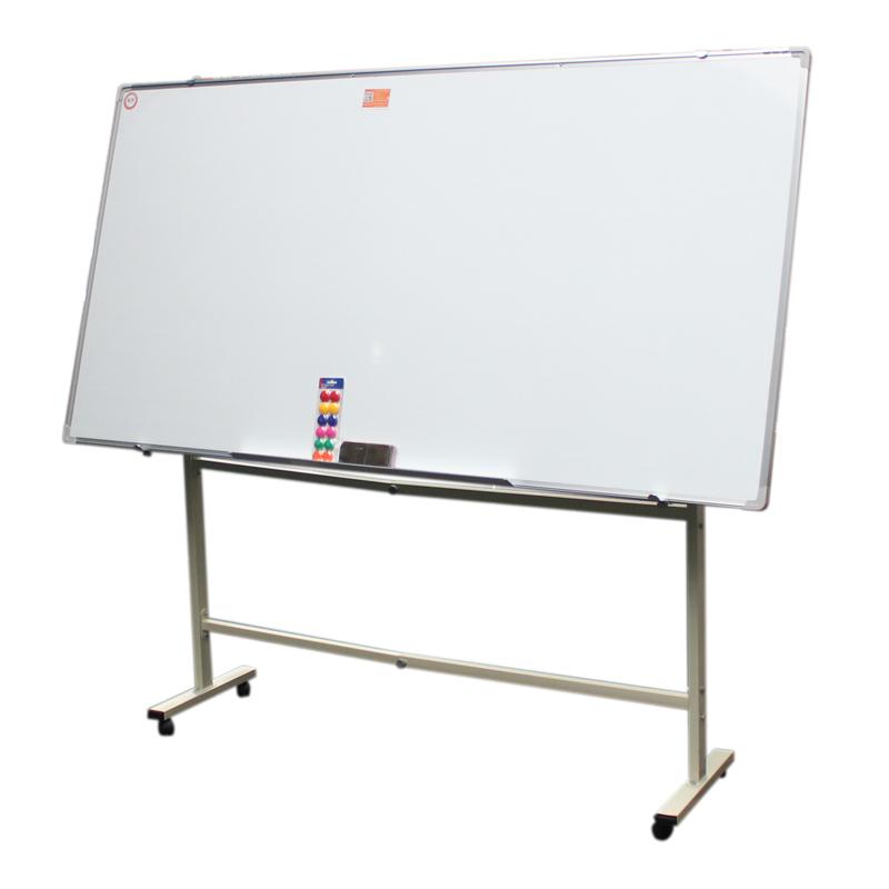 拓兴进口镀锌双层烤漆白板面 办公教学磁性写字白板配图片