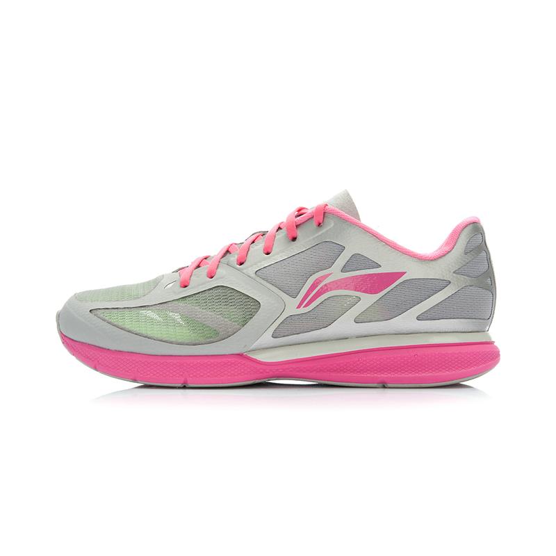 李宁女鞋跑步鞋夏新款女子减震运动鞋超轻十一代跑鞋