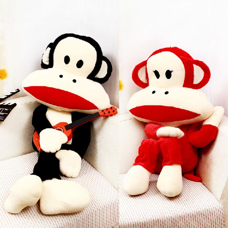 毛绒玩具大嘴猴公仔大号 馋嘴猴 可爱情侣猴子 情侣玩具 抱枕娃娃玩偶