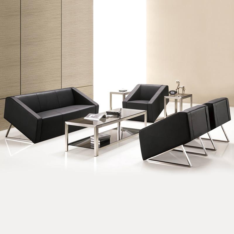 fg办公家具办公沙发简易茶几组合现代简约商务办公室家具会客沙发组合