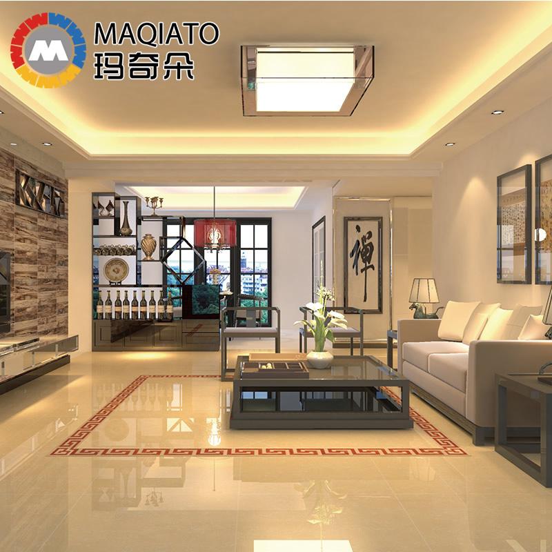 玛奇朵瓷砖地砖 客厅地砖 600 600 抛光砖防滑地板砖600 600 玻化砖