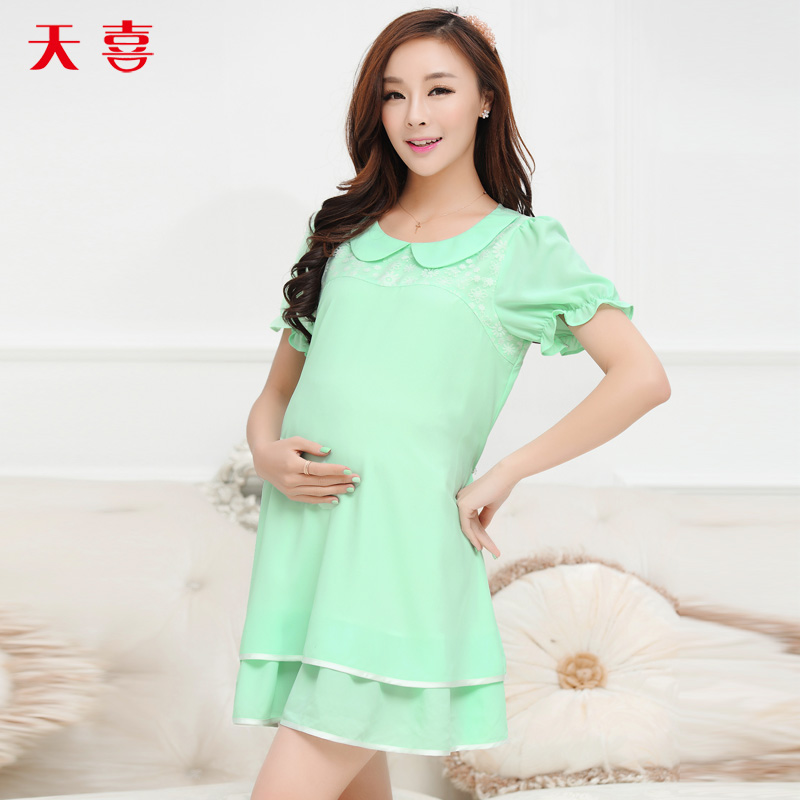 连衣裙韩国孕妇