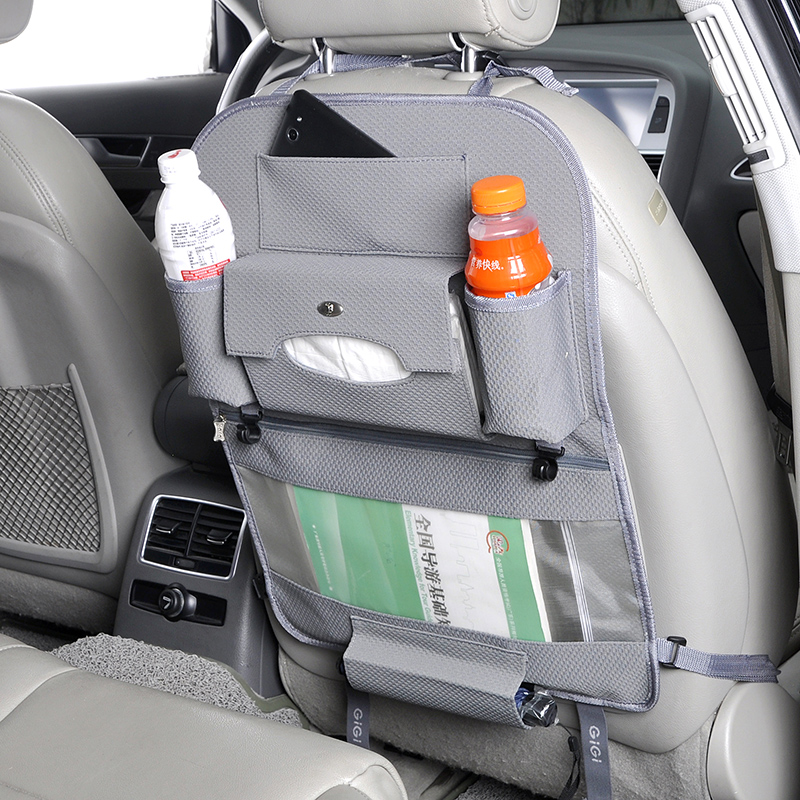 gigi吉吉汽车内饰用品车品椅背置物袋收纳袋多功能整理袋图片