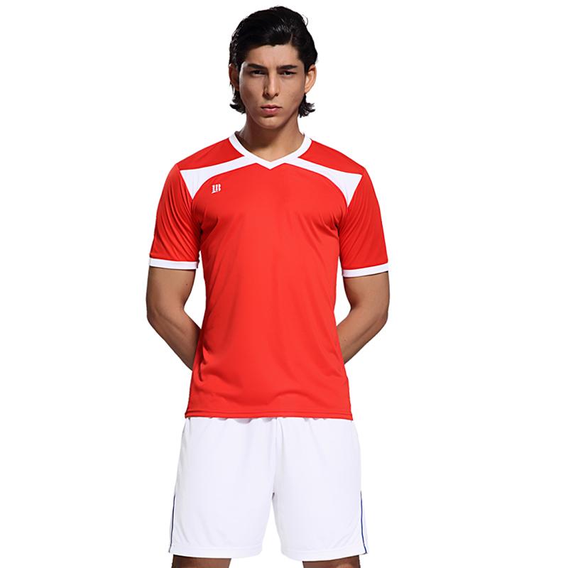 绿茵豹足球服训练服套装男队服定制光板组队球衣 儿童