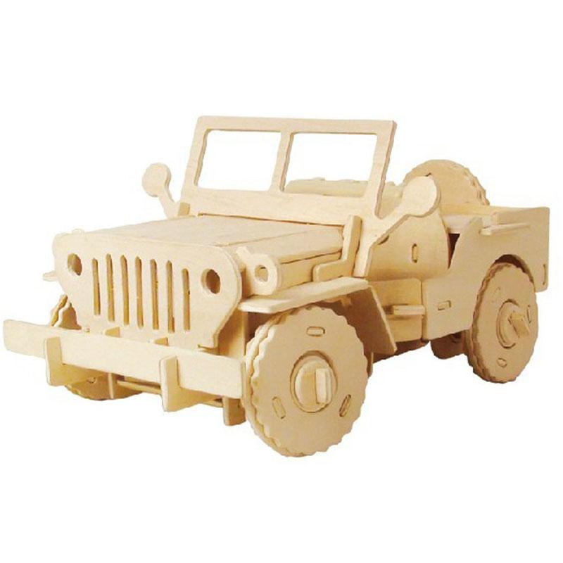 电动玩具 若态科技diy益智拼装玩具仿真模型军事车遥控电动吉普车v400