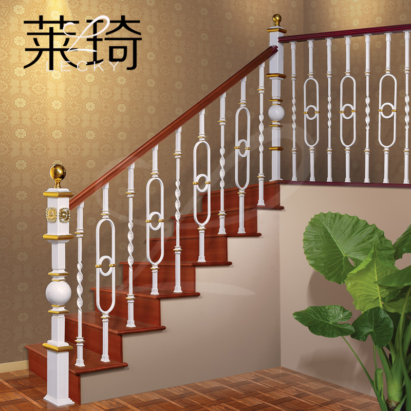 阳台实木围栏设计图