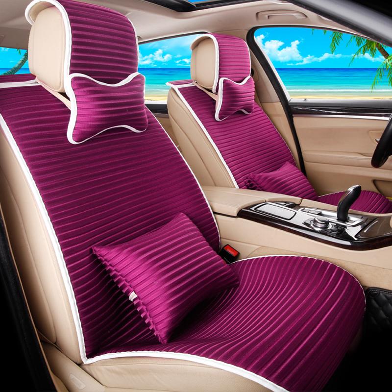 坐垫座垫凉垫座椅套座套全包大众朗逸大众桑塔纳现代朗动 cl透气3d紫