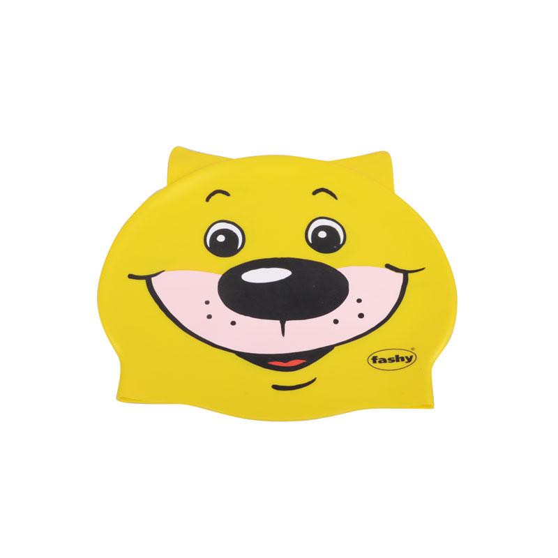 费����ym%9a����_fashy费许泳帽 德国原装进口游泳用品系列 黄色熊3048