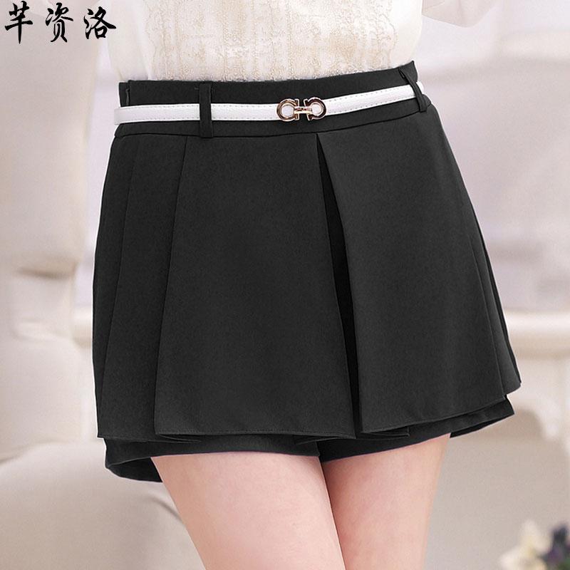 裤裙女黑色