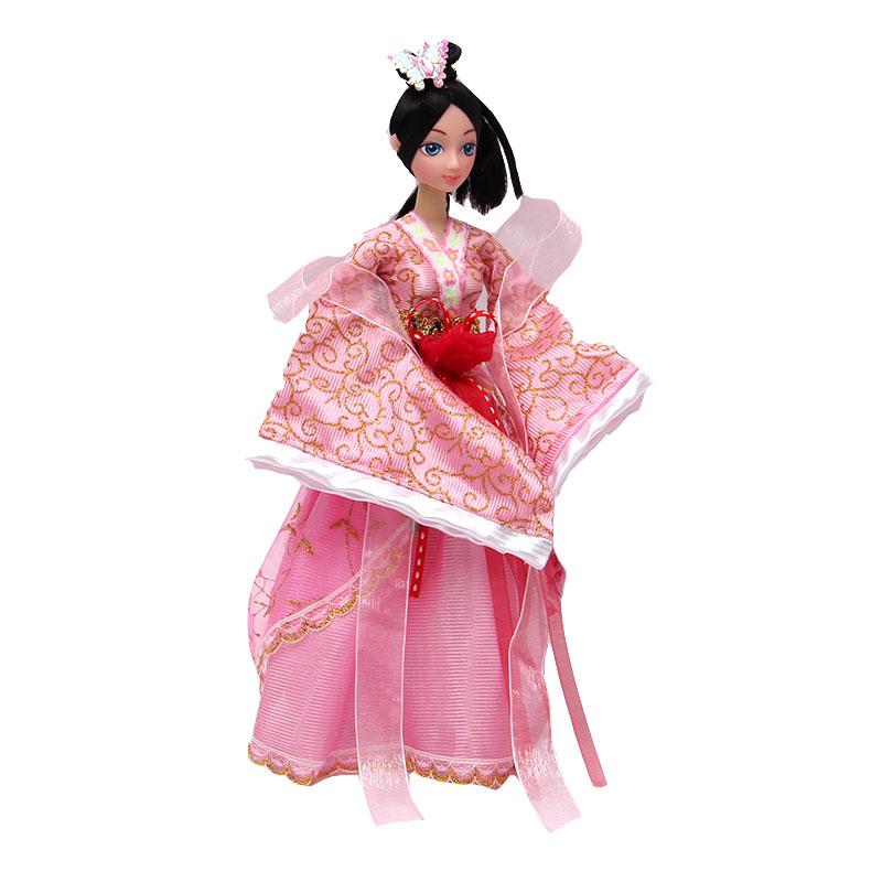 古装芭比娃娃古代四大美女套装 杨贵妃全关节可动女孩过家家玩具 西施