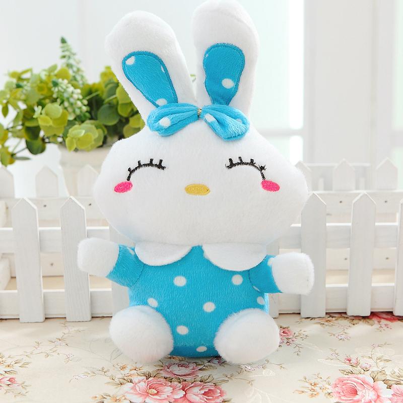 小礼品礼物卡通可爱小白兔公仔娃娃挂件