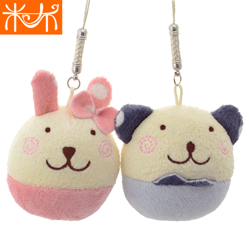 米布苏比兔子手机小挂件可爱布娃娃毛绒玩具公仔 车饰