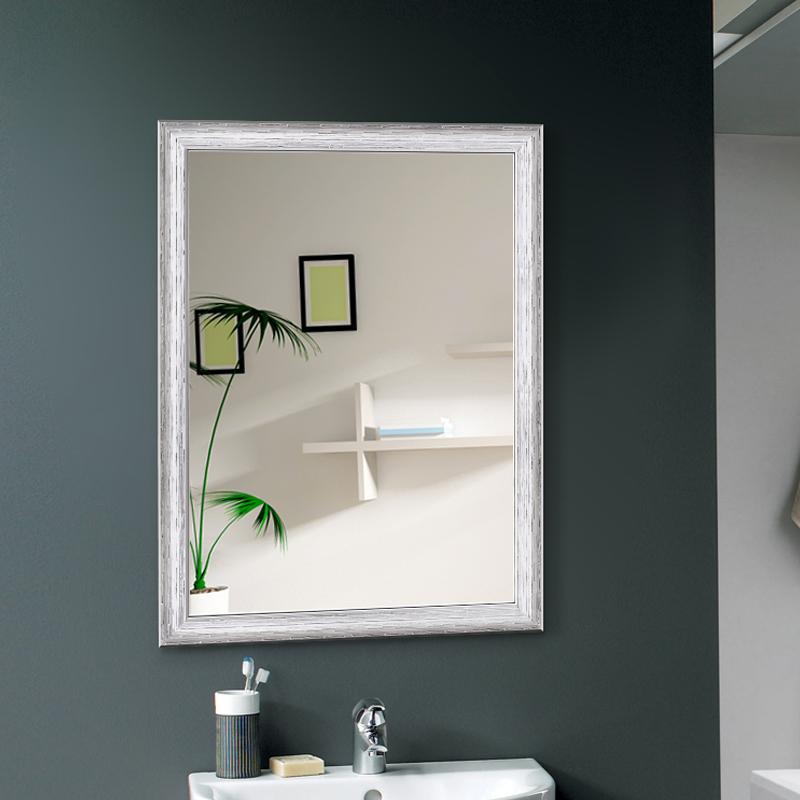 卡帝卫浴镜 浴室镜边框卫生间镜子洗漱镜梳妆镜洗手间