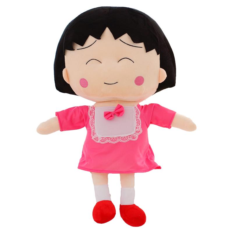樱桃小丸子可爱毛绒玩具公仔