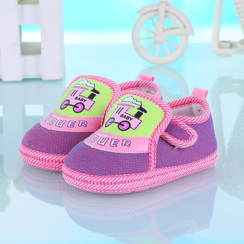 春秋款男宝宝学步鞋宝宝鞋子0-1-2岁婴儿步前鞋子软底