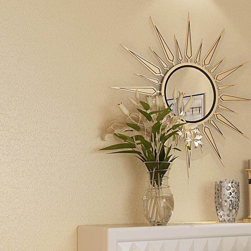 卓氏墙纸 素色无纺布墙纸 美式纯色电视背景墙现代壁纸 中式卧室客厅