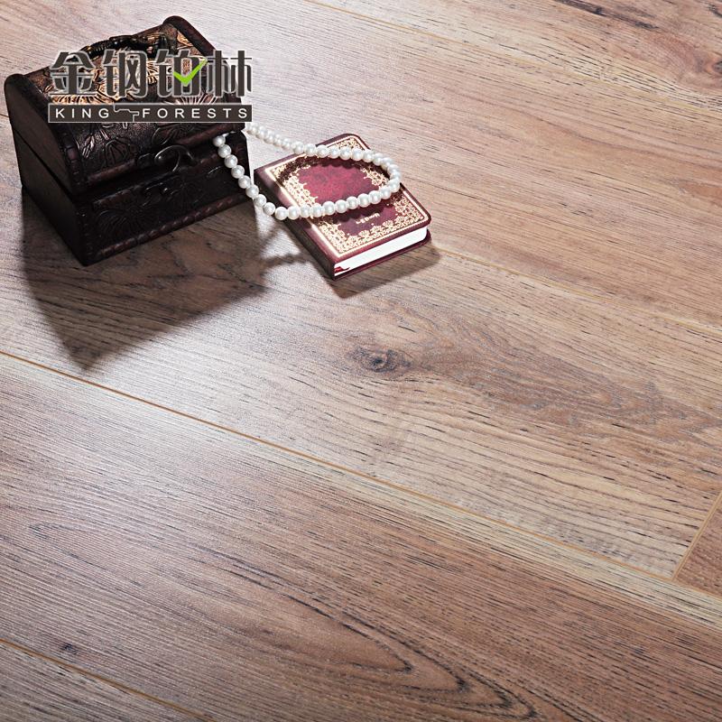 健康环保e0级木地板个性时尚纹理 奥尔良山核桃 1285x192x8mm