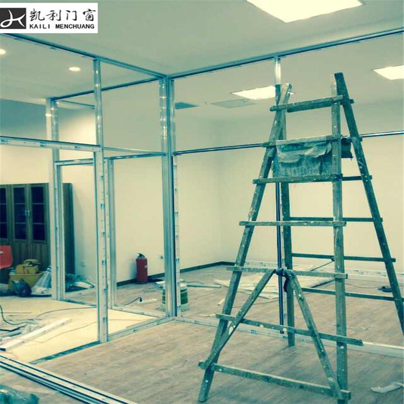 玻璃隔断 铝合金隔断 办公室隔断 工厂隔断材料 隔断墙 双层钢化玻璃