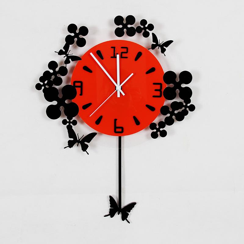 时尚挂钟客厅静音石英钟简约时钟现代欧式
