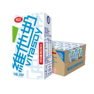 京东PLUS会员,有券的上: vitasoy 维他奶 无糖豆奶 250ml*24盒 *2件 主图