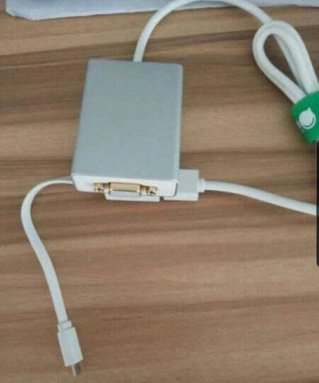 绿联 USB转VGA母头外置显卡转换器 台式机笔记本苹果电脑外接投影仪电视显示器多屏扩展转接线 晒单图