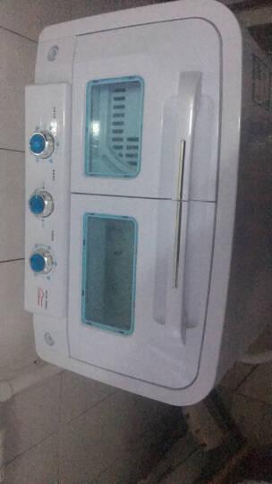 雪花 13公斤 半自动双缸 双桶波轮洗衣机 家用大容量 限时折扣              晒单图