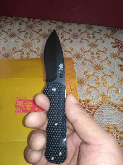 三刃木 工具刀 蜂巢7045 黑色刃(户外探险折叠刀、救生军刀、多用途工具刀) 晒单图