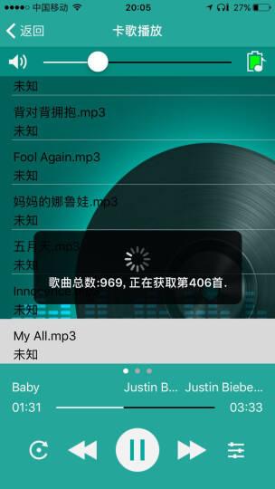 纽曼(Newsmy)Q10运动跑步MP3播放器迷你随身听运动计步器音乐随身听APP控制 Q10黑红色8G 晒单图