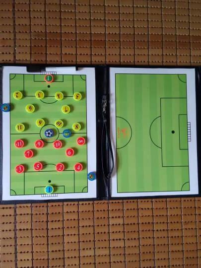 麦卡 足球战术板教练示教板 折叠战术板 战术盘 带手写笔带磁性 晒单图